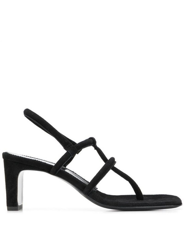 Dorateymur thong sandal in black
