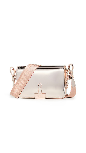 Off-White Mirror Mini Flap Bag