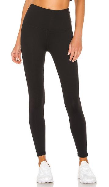 Beyond Yoga Sportflex High Waisted Midi Legging in Black