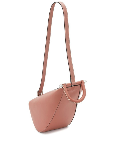 JW Anderson small Wedge tote bag in pink