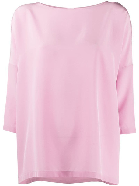 M Missoni dropped shoulder top in pink