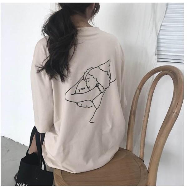 blouse girly t-shirt t-shirt dress tumblr