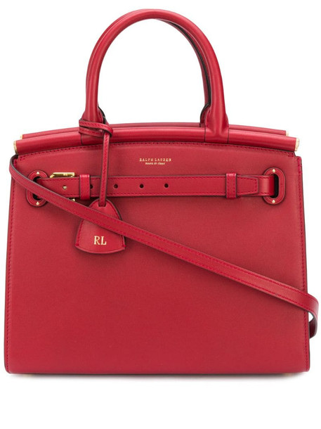 Ralph Lauren Collection The RL50 tote bag in red