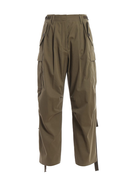 Givenchy Cargo Trousers in green