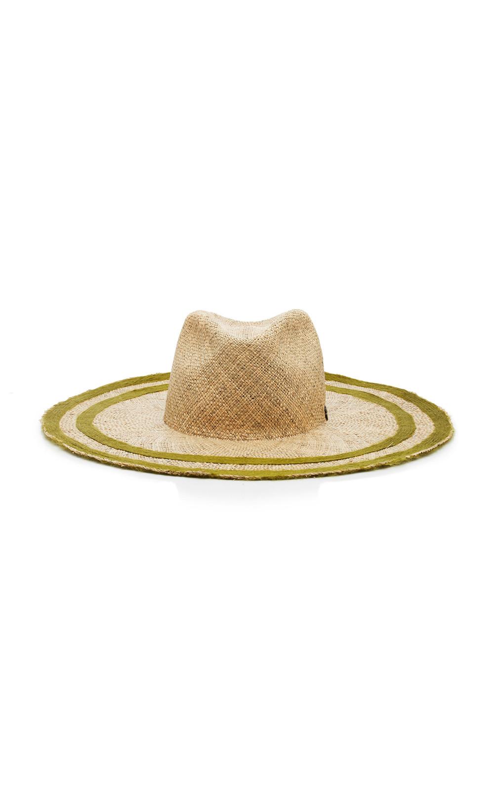 Filu Hats Capri AG Straw Hat in green