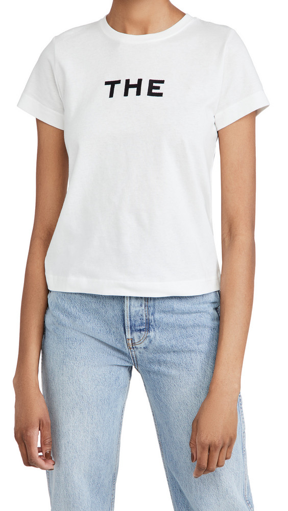 The Marc Jacobs The T-Shirt in white