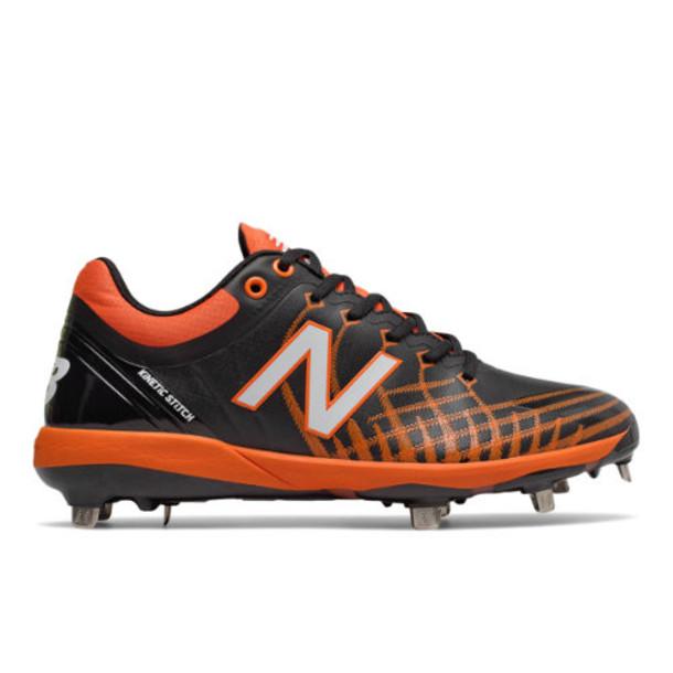 New Balance 4040v5 Metal Men's Cleats and Turf Shoes - Black/Orange (L4040BO5)
