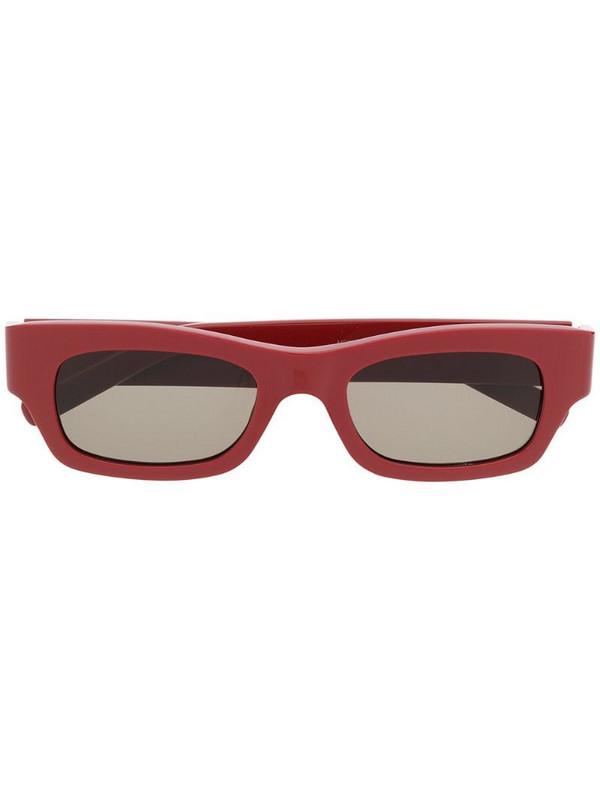 Marni Eyewear rectangular sunglasses in red