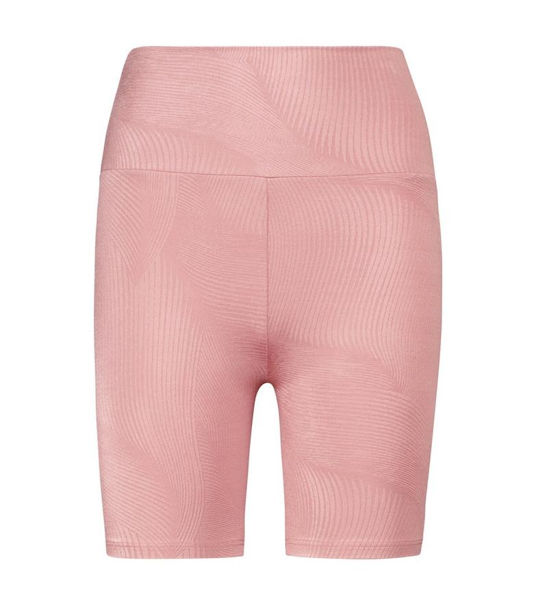Lanston Sport Mindful biker shorts in pink