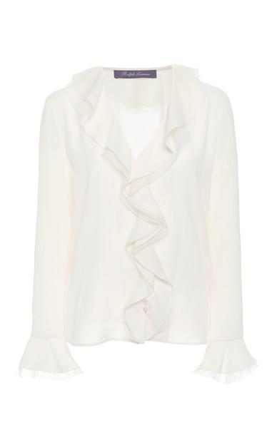 Ralph Lauren Madelyn Shirt in white