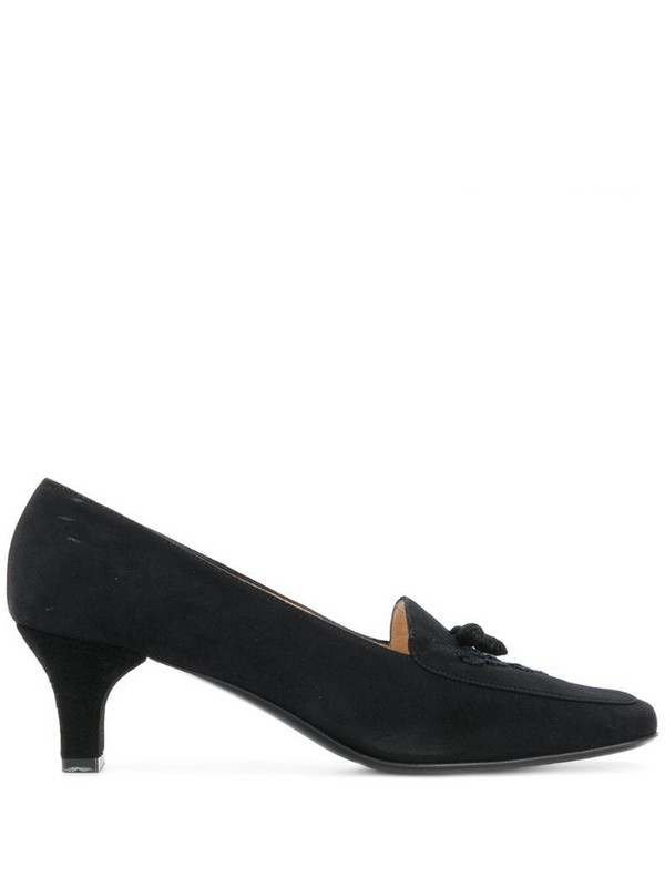 Salvatore Ferragamo Pre-Owned loafer-style pumps in black