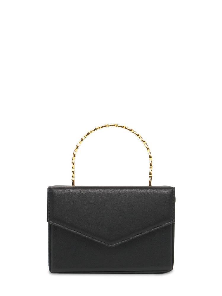 AMINA MUADDI Superamini Pernille Leather Bag in black