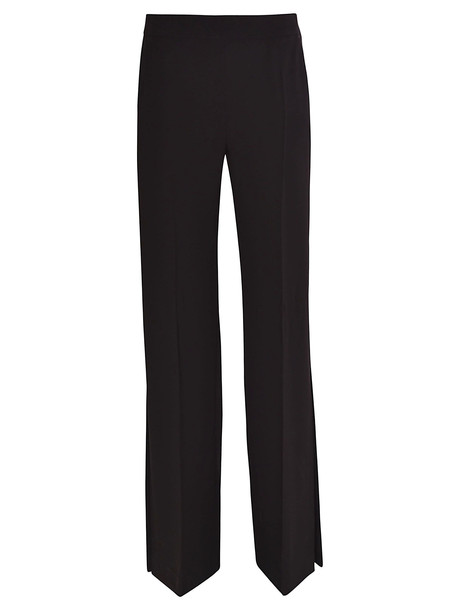 Max Mara Straight Leg Trousers in nero