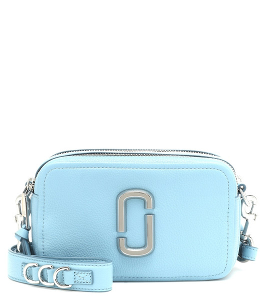 Marc Jacobs Softshot 21 leather shoulder bag in blue