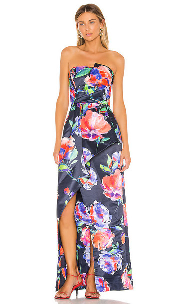 Parker Black Whitney Gown in Navy