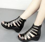 shoes,gladiator wedges