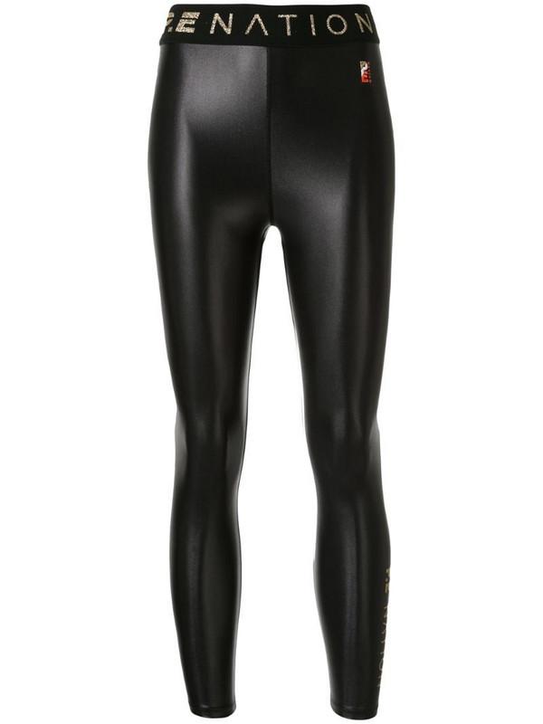 P.E Nation Easy Keeper leggings in black