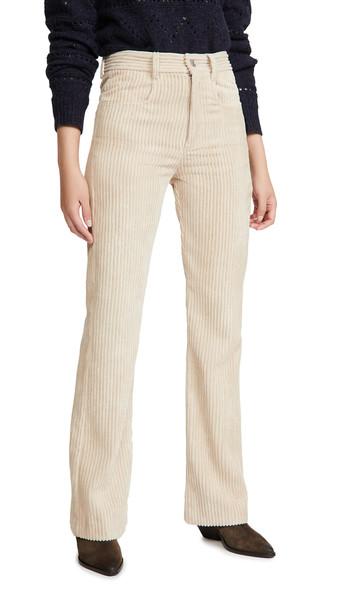 Isabel Marant Etoile Delvira Jeans in beige