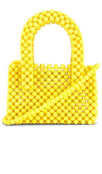 Lovers + Friends Lovers + Friends Rachel Micro Purse in Yellow