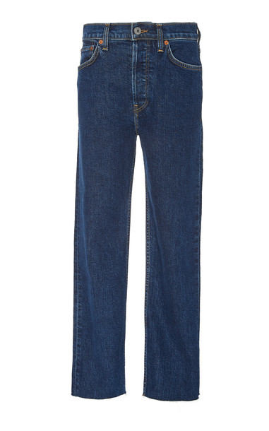 Re/done High-Rise Stovepipe Jeans Size: 26