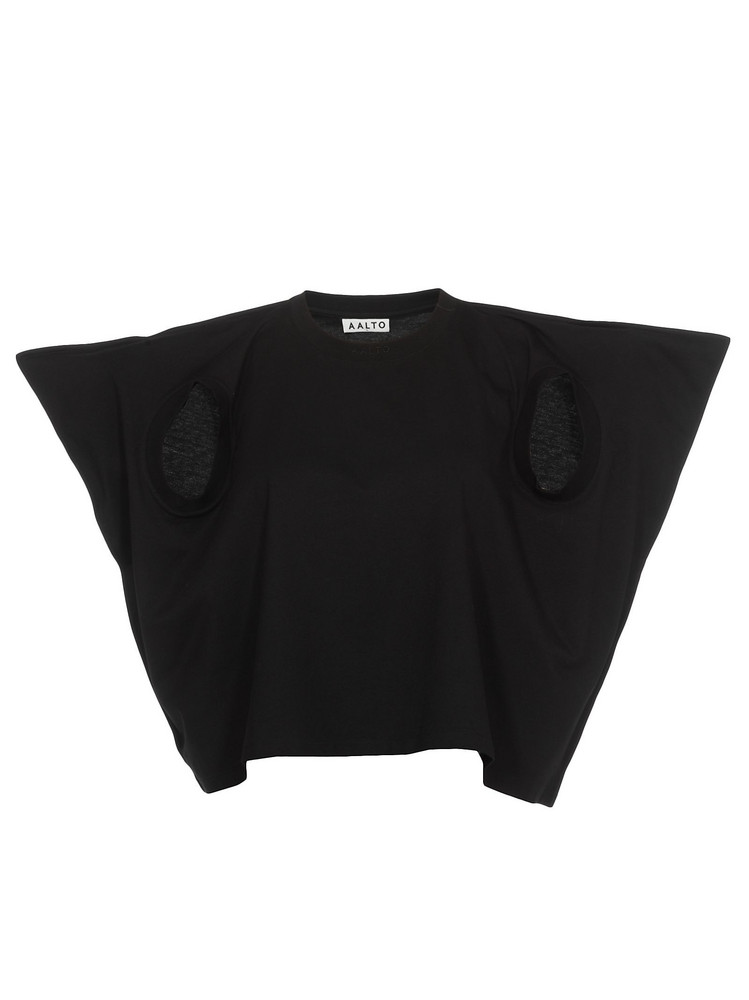 AALTO Crop Top in black