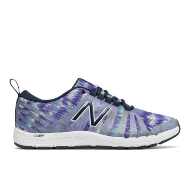 New Balance 811 Print Trainer Women's Recently Reduced Shoes - Purple/White (WX811A2)