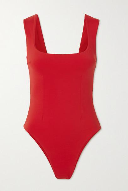 HAIGHT - Brigitte Swimsuit - Red