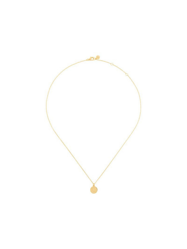 Astley Clarke zodiac Scorpio pendant in metallic
