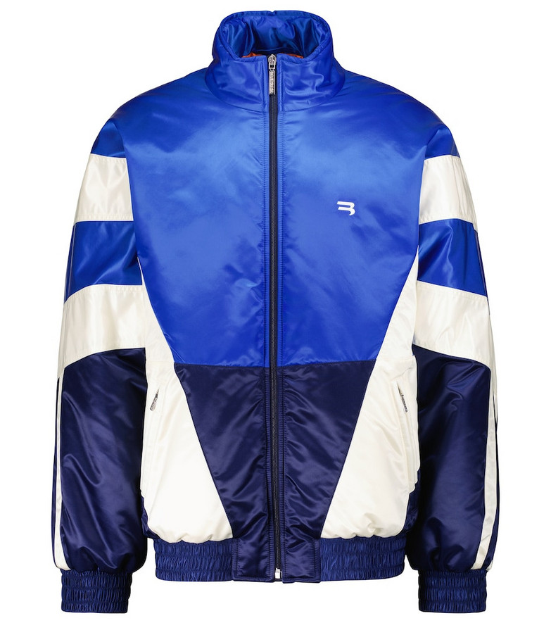 Balenciaga Track jacket in blue