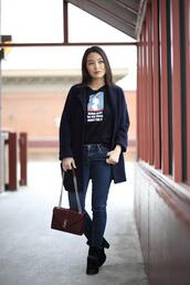 sensible stylista,blogger,t-shirt,jacket,jeans,bag,shoes