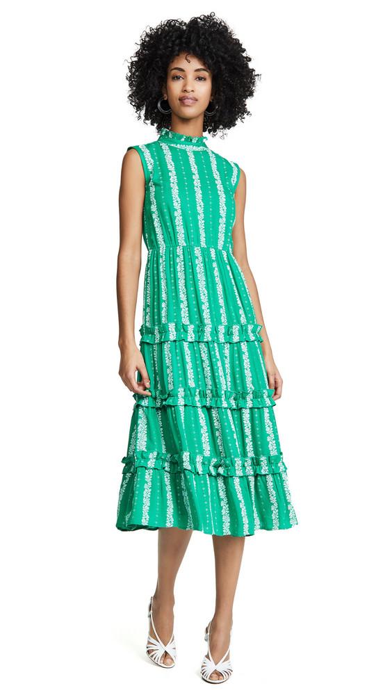 Valencia & Vine Mia Dress in green