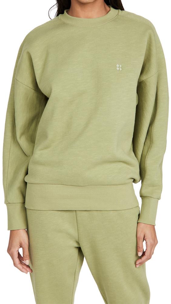Sweaty Betty Essentials Sweatshirt in green
