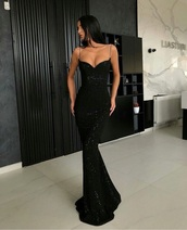 dress,black,sequins,black sequin,black dress,want for prom,black sequin dress,black sequined dress,long dress,sparkly dress,sparkle,maxi dress,mermaid prom dress,glitter,prom dress