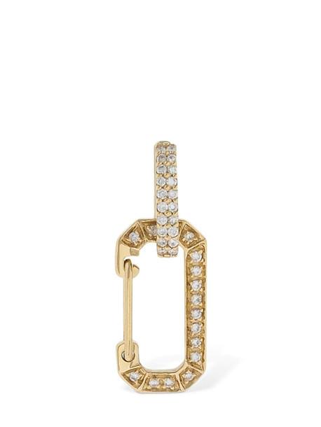 EÉRA Sm Chiara Gold & Diamond Mono Earring