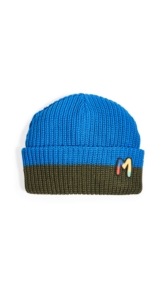 Missoni Missoni Stitched Beanie in blue