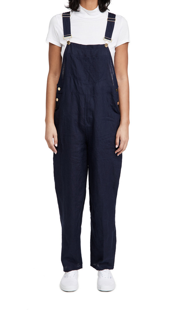 WeWoreWhat Basic Overalls in navy