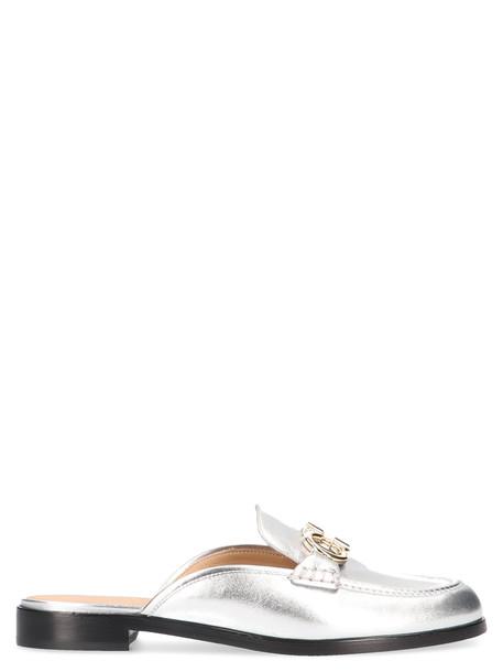 Salvatore Ferragamo 'viaggio' Shoes in silver