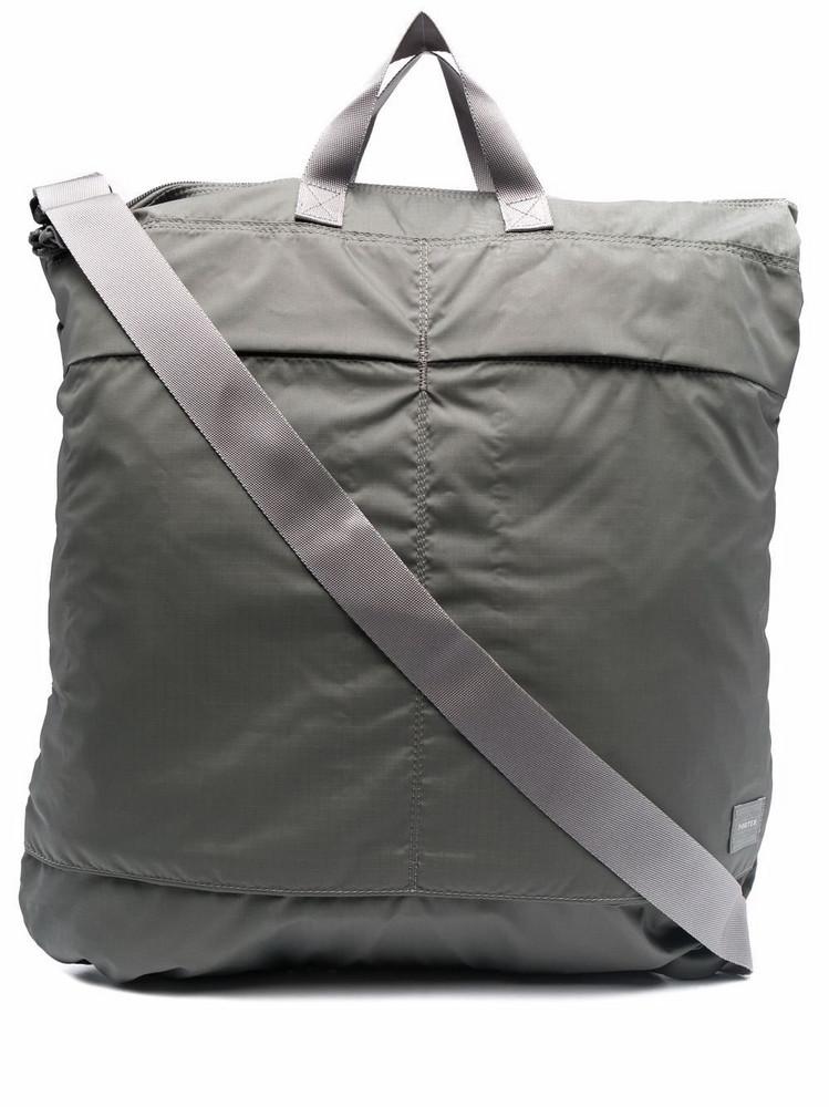 Porter-Yoshida & Co. Porter-Yoshida & Co. Helmet 2Way tote bag - Grey