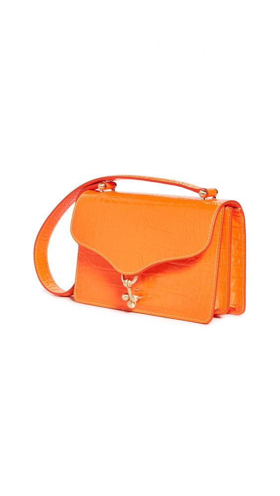 Edie Parker Ballbuster Bag in orange