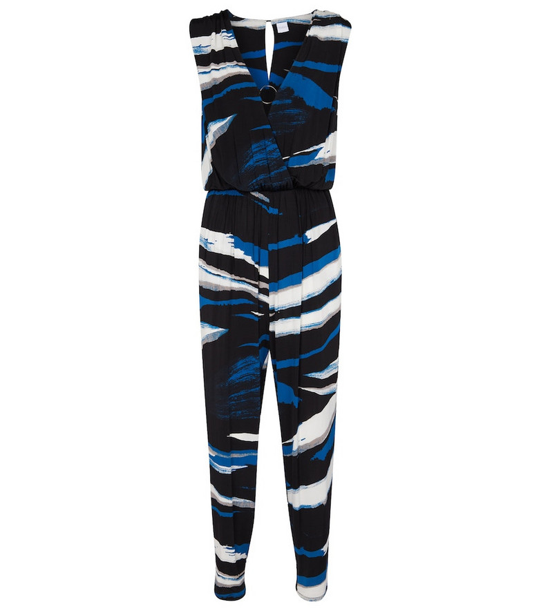 Max Mara Tennis stretch-jersey jumpsuit in black