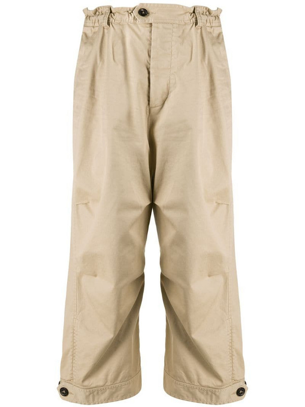 Dsquared2 oversized workwear trousers in neutrals