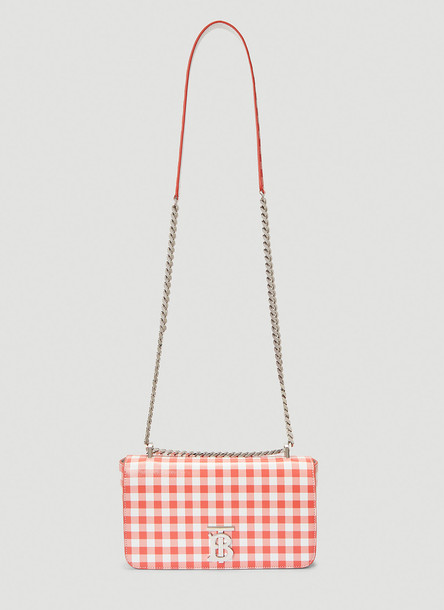 Burberry Small Lola Shoulder Bag in Red size One Size