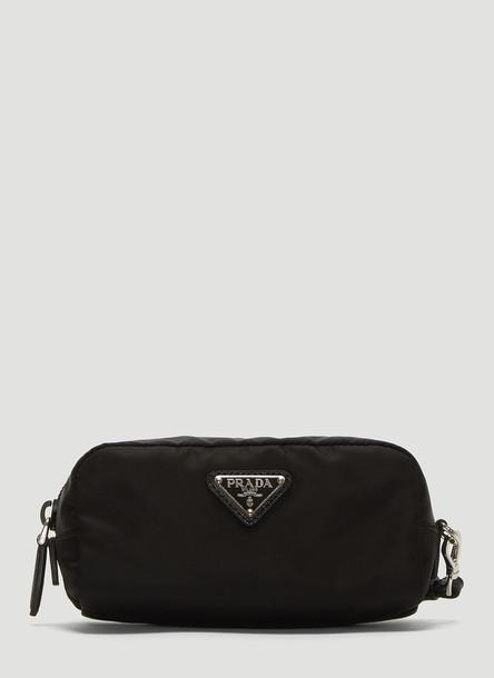 Prada Nylon Beauty Pouch in Black size One Size