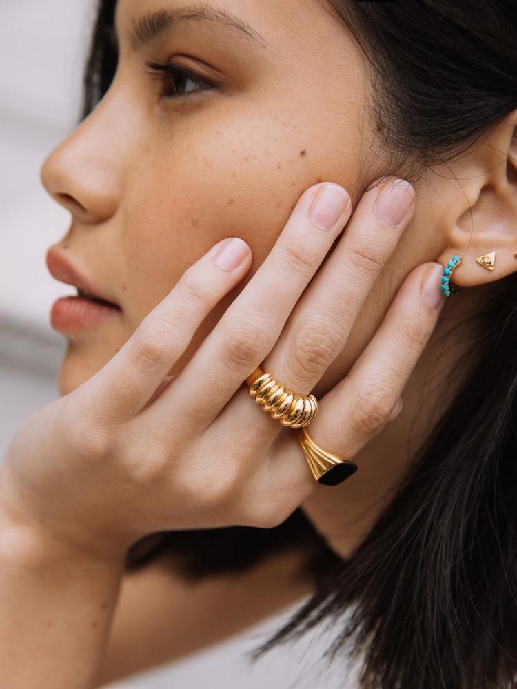 MISSOMA Claw Ridge Ring in gold