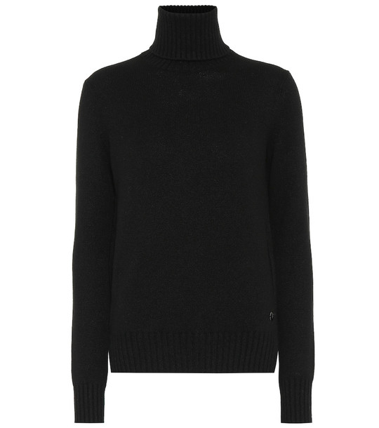 Loro Piana Parksville cashmere sweater in black