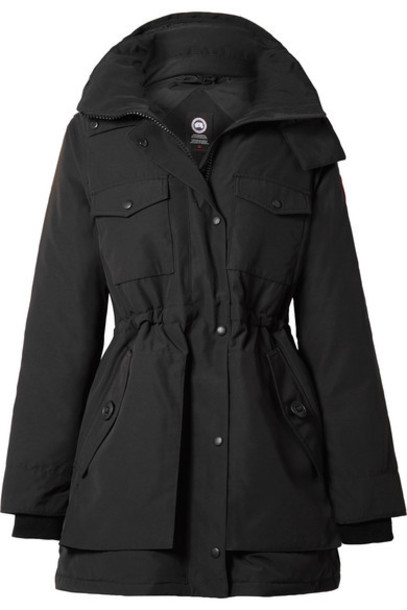 Canada Goose - Gabriola Hooded Quilted Shell Down Parka - Black
