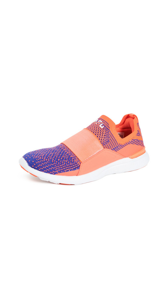 APL: Athletic Propulsion Labs Techloom Bliss Sneakers in blue / red / white