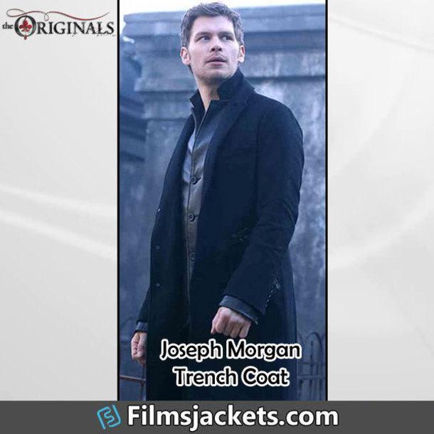 coat tvsereies the originals celebrity joseph morgan fashion style outfit menswear mens  fashion men's outfit