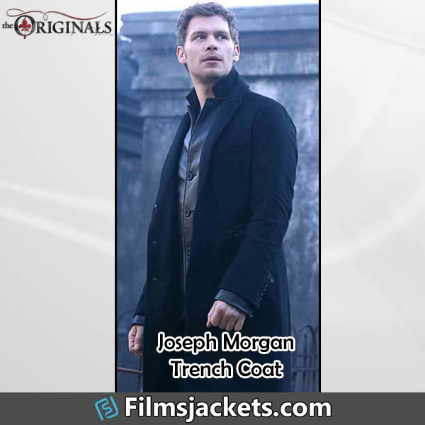 coat tvsereies the originals celebrity joseph morgan fashion style outfit menswear mens  fashion men's outfit