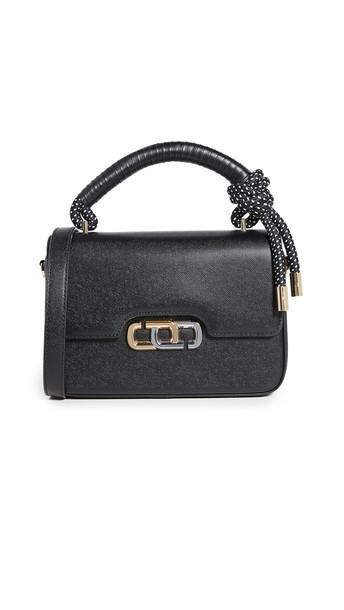 The Marc Jacobs The J Link Shoulder Bag in black / white